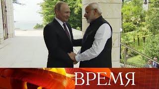 Россия и Индия наращивают торговлю и военно-техническое сотрудничество.