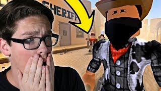 REACTING TO A ROBLOX WESTERN MOVIE - Phantom of The West
