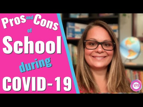 Back To School During COVID-19 Pros And Cons