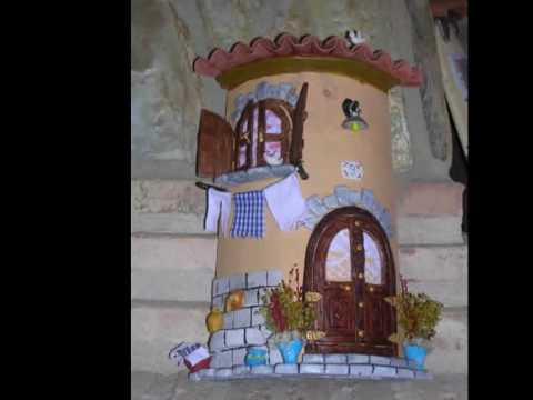 Tejas decoradas mpg youtube for Puertas de tejas decoradas