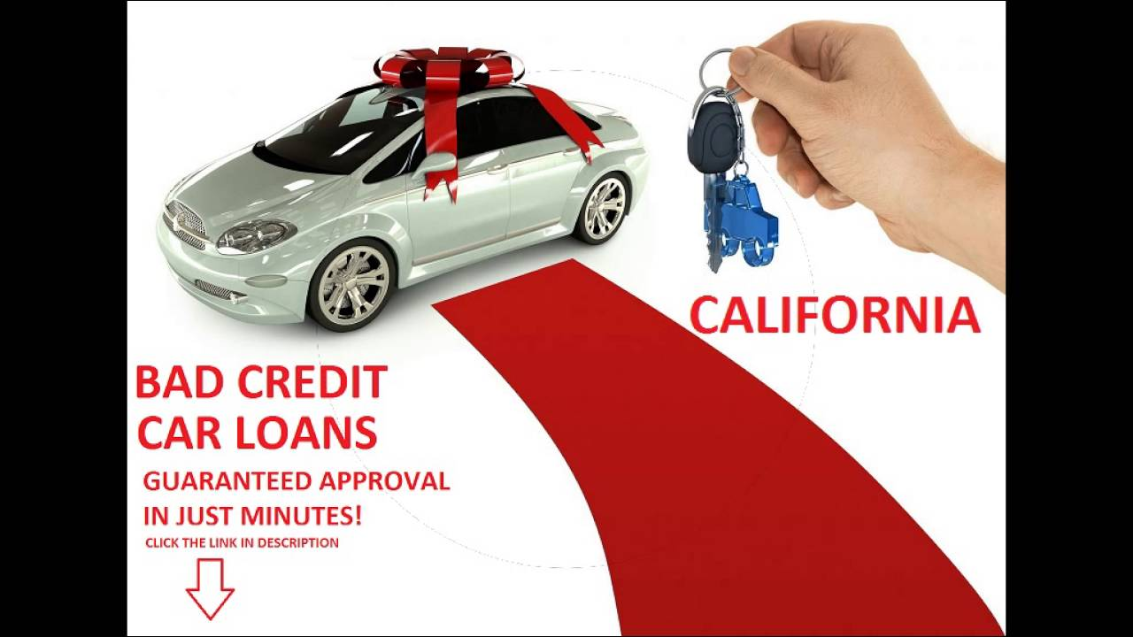 No Down Payment Car Loans for Bad Credit in California ...