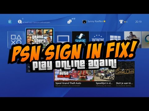 GTA 5: PSN Sign In Fix!! How To Play Online FIX!