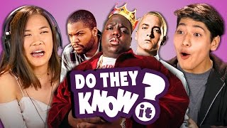 DO TEENS KNOW 90s HIP HOP? (REACT: Do They Know It?) thumbnail