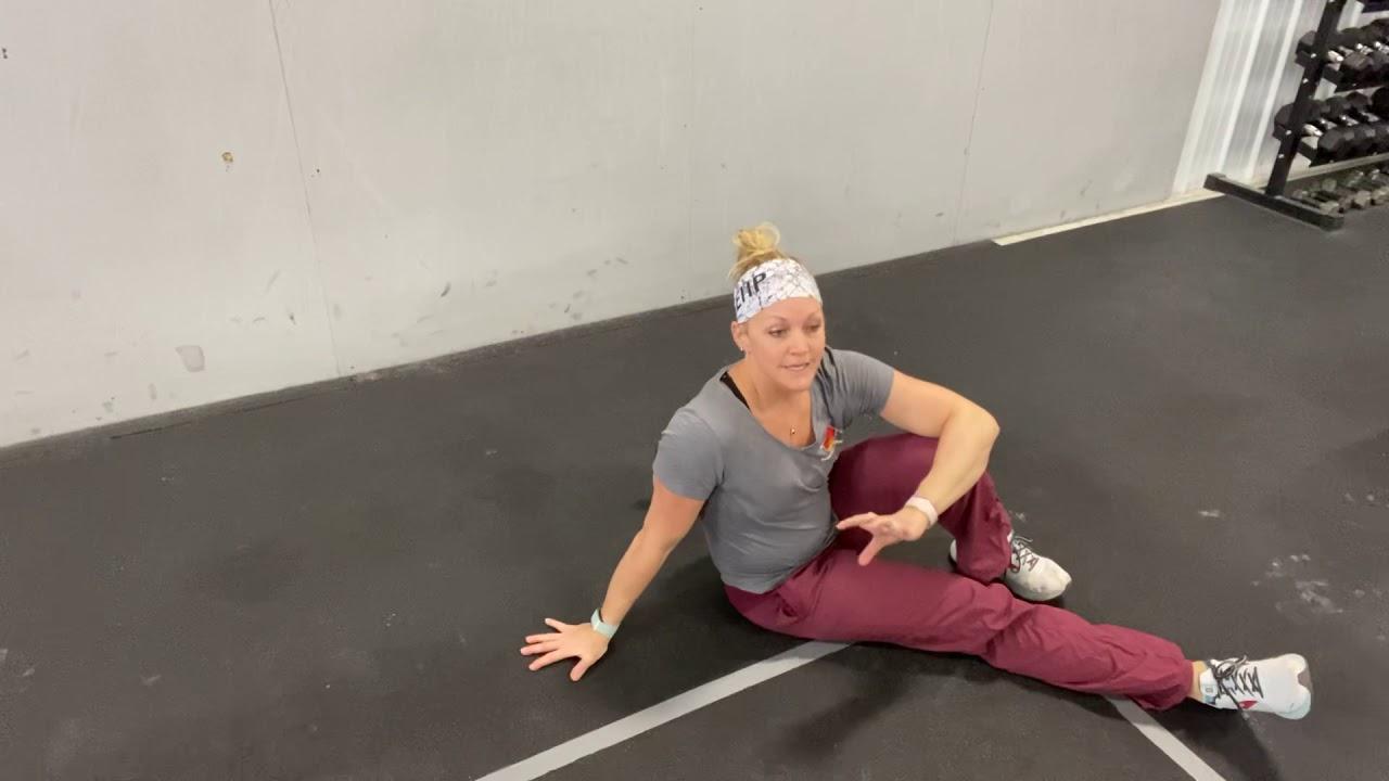 (One of) Dr. Karla's favorite rotator cuff exercises- KB shoulder series