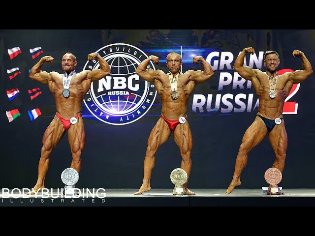 2019 GRAND PRIX Russia II, NBC — Bodybuilding up to 80 kg.