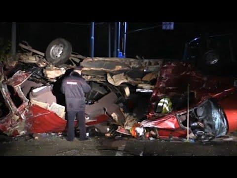 ДТП в Чувашии: 13 погибших