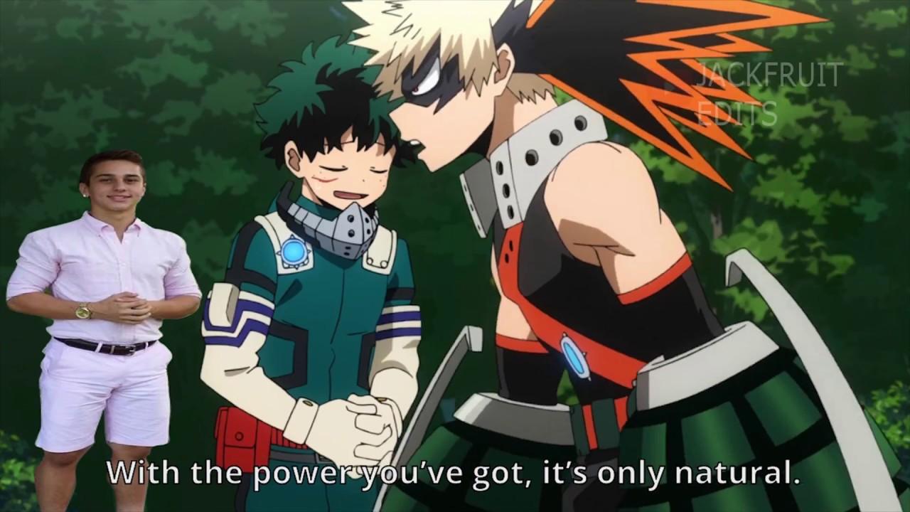 Midoriya had to do it to em (My Hero Academia Season 3 Episode 18 Meme)