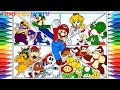 How to Draw Super Mario Bros Charactors #249 | Drawing Coloring Pages Videos for Kids