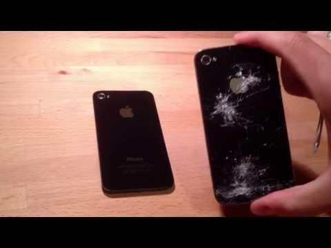 Ремонт iPhone 4 : Как самому заменить заднюю крышку айфона 4 / Замена задней крышки iPhone 4