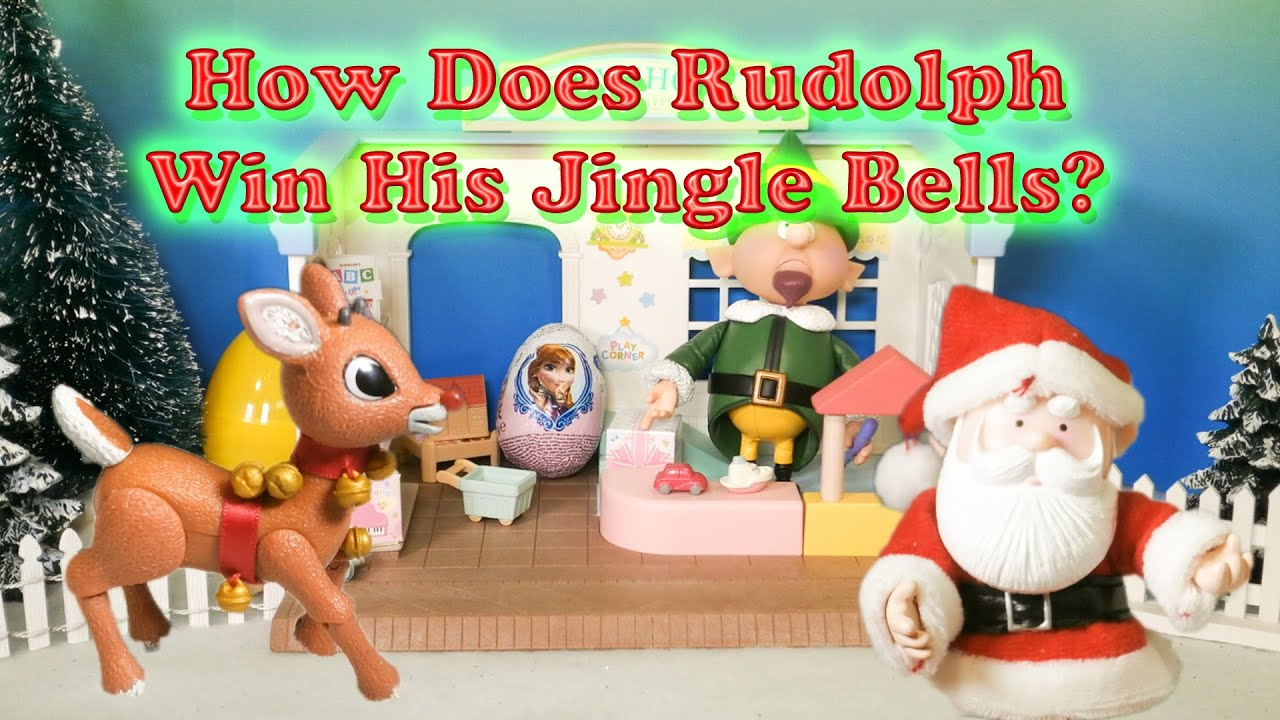 rudolph wins his jungle bells a santa claus toy parody youtube - Rudolph And Santa