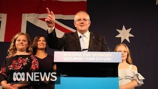 i-have-always-believed-in-miracles-scott-morrison-declares-election-victory-abc-news