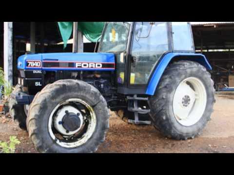 วิธีการซ่อมรถไถ FORD 7840 Code Error 7840 new holland