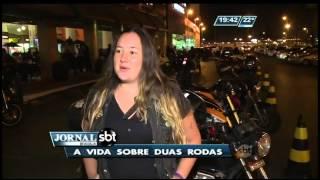 Motos ganham cada vez mais espaço no trânsito de Brasília