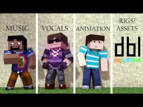 'New World' -Paradise By : SkyDoesMinecraft   Minecraft Songs