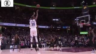 Kevin Durant Hits DAGGER THREES To Defeat the Cavs and Lebron NBA Finals Game#3 6June2018