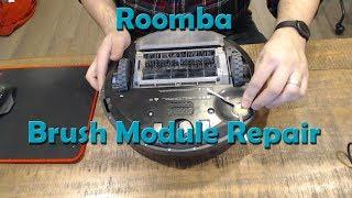Roomba Side Brush Module Repair