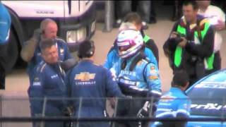 Jason Plato Matt Neal BTCC Rockingham 2011. Uncut live video, body language not seen on ITV.