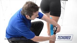 De dolor la la rodilla de del pierna la posterior en después día parte