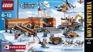 Lego City   Arctic Base Camp 60036   Review