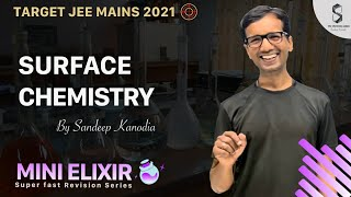 #V8 Surface Chemistry | Revision Series | JEE MAINS 2021