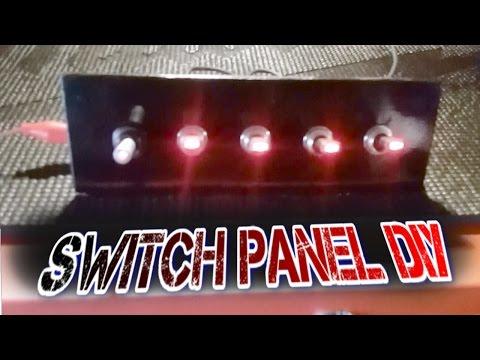 Custom Switch Panel | DIY |