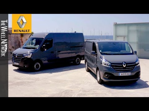 The New Renault Master And Trafic (2019 Facelift)