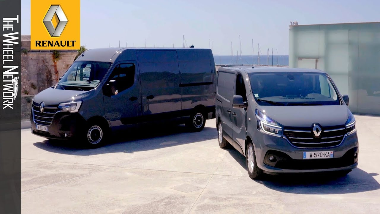 the new renault master and trafic 2019 facelift youtube. Black Bedroom Furniture Sets. Home Design Ideas
