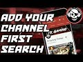 How to discoverable your channel on first search,|| New trick 2018||