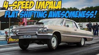Awesome Flat-Shifting 4-Speed 1963 Impala Hardtop
