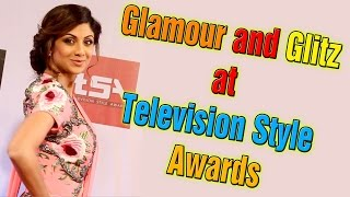 Glamour and Glitz at Television Style Awards