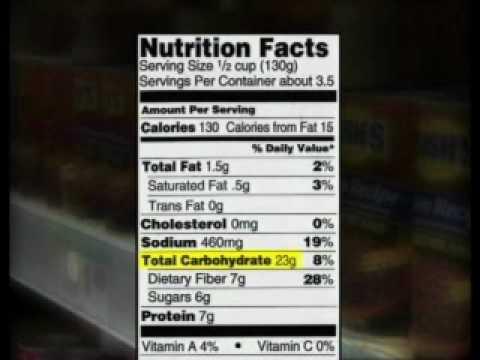 Diabetes Basics: Taking a Closer Look at Labels
