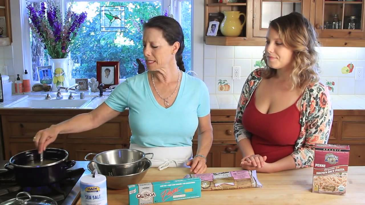 Perfect Gluten Free Pasta - Curry Girls Kitchen - YouTube