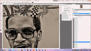 Kid Cudi Vector - Speed Art