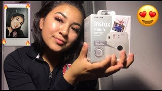 Fujifilm Instax Mini 9 Camera Unboxing and First Look -Instant Camera
