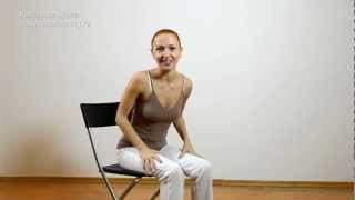 Правильная осанка и активное сидение | Фитнес-перезагрузка! Урок № 2 | Фитнес дома