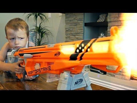 Nerf War: Gun BABY 9!