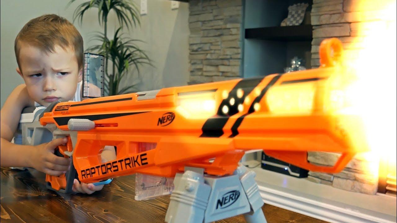 Nerf War Gun BABY 9 YouTube