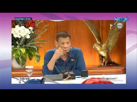 WATCH: President Rodrigo Duterte Addresses the Filipino Nation | August 2, 2020