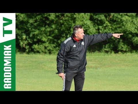 Trener Grzegorz Opaliński przed meczem z Wisłą Puławy [RADOMIAK.TV]