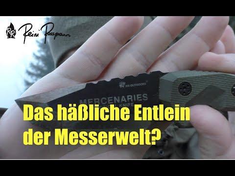 Häßliches Messer oder Überflieger?