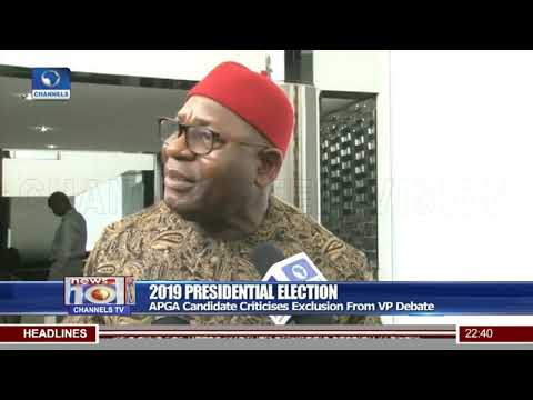 APGA Candidate Criticises Exclusion From VP Debate