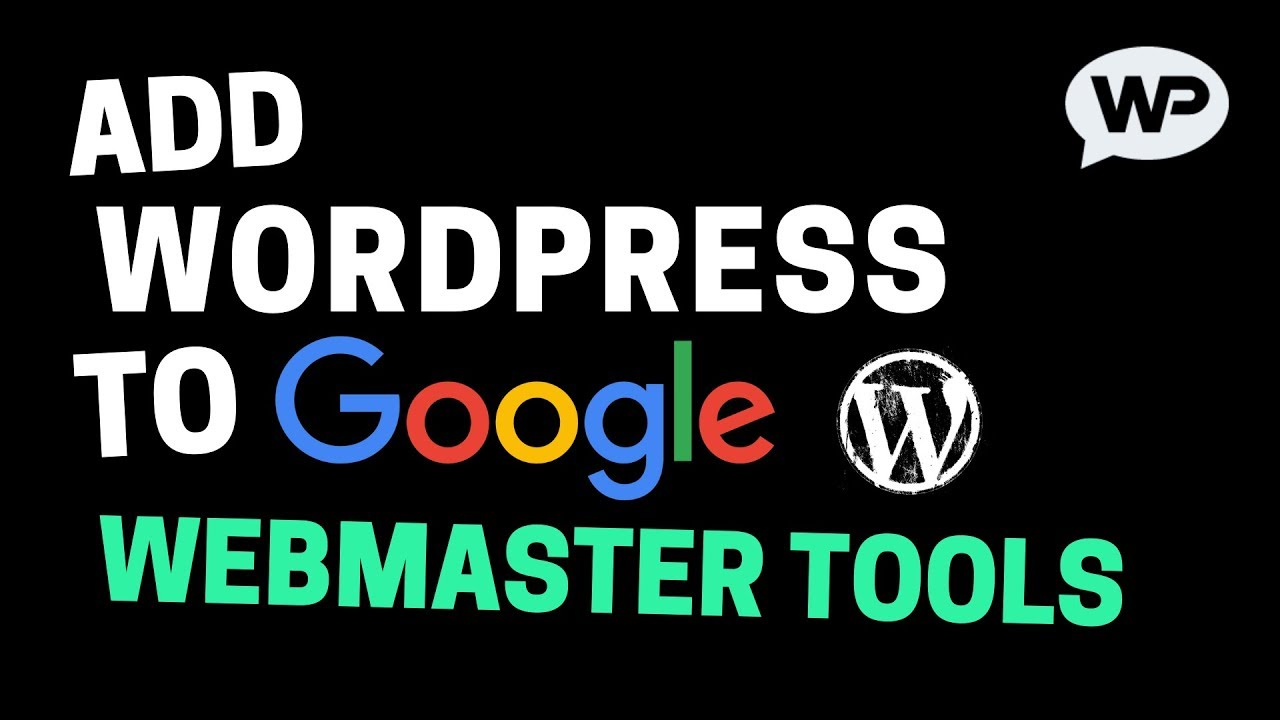 How to Add WordPress Site to Google Webmaster Tools (2018)