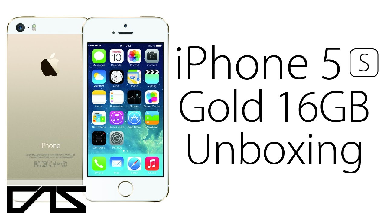 iphone 5s unboxing 16gb gold edition youtube. Black Bedroom Furniture Sets. Home Design Ideas