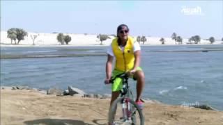 ليث بزاري على دراجته من شمال المملكة إلى جنوبها