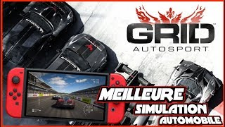 MEILLEURE SIMU VOITURES SWITCH 🏎️🔥 GRID, DECOUVERTE GAMEPLAY FR !