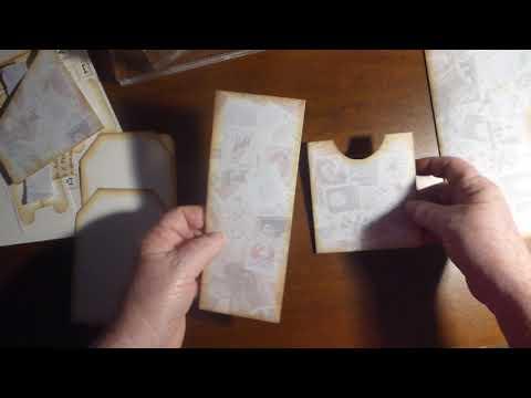 making the folding envelope template