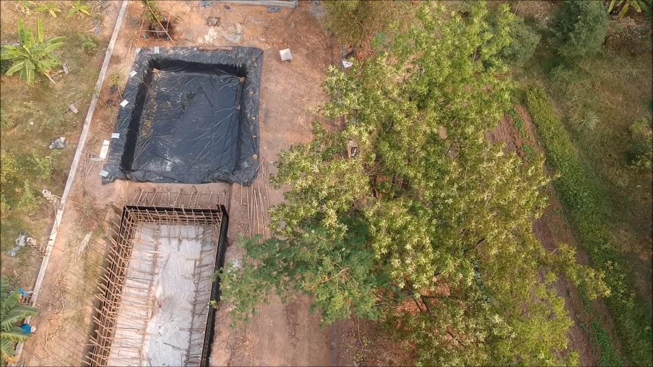 Natural Swimming Pool Build - Thailand