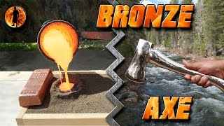 """ No Music"" Casting a Bronze Axe Start to Finish"