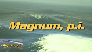 Magnum P.I. GTA V remake - Picture in Picture