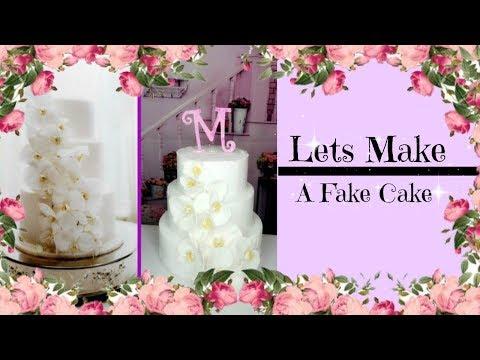 lets-make-a-fake-cake-|-balling-on-a-budget